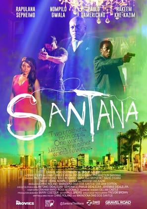 Santana - South African Movie Poster (thumbnail)