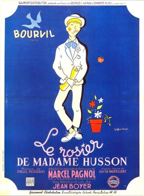 Rosier de Madame Husson, Le - French Movie Poster (thumbnail)