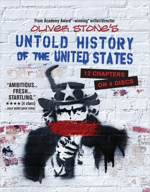 """""""The Untold History of the United States"""" - Blu-Ray movie cover (thumbnail)"""