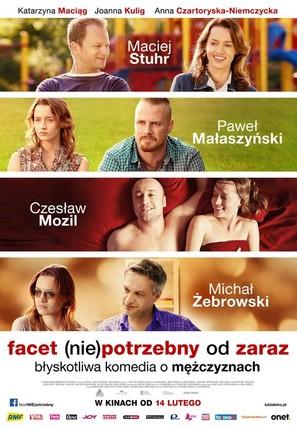 Facet (nie)potrzebny od zaraz - Polish Movie Poster (thumbnail)