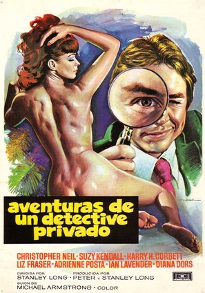 Adventures of a Private Eye - Spanish Movie Poster (thumbnail)