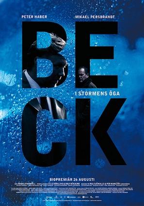 Beck - I Stormens öga - Swedish Movie Poster (thumbnail)