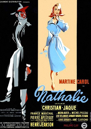 Nathalie - French Movie Poster (thumbnail)