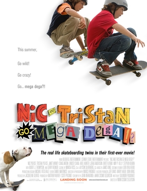 Nic & Tristan Go Mega Dega - Movie Poster (thumbnail)