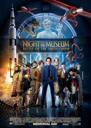 Night at the Museum: Battle of the Smithsonian - Movie Poster (thumbnail)