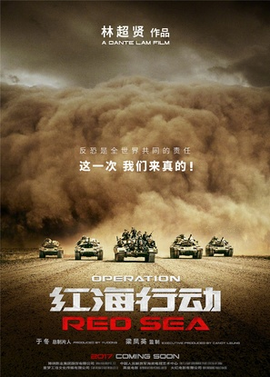 Operation Red Sea - Chinese Movie Poster (thumbnail)