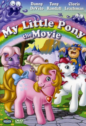 My Little Pony: The Movie - DVD movie cover (thumbnail)