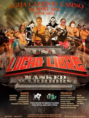 """Lucha Libre USA: Masked Warriors"" - Movie Poster (thumbnail)"