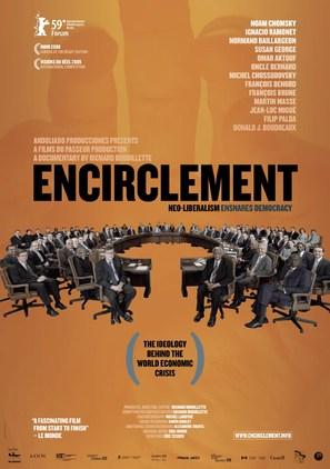 L'encerclement - La démocratie dans les rets du néolibéralisme - Canadian Movie Poster (thumbnail)