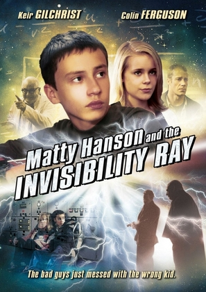 Matty Hanson and the Invisibility Ray - DVD movie cover (thumbnail)