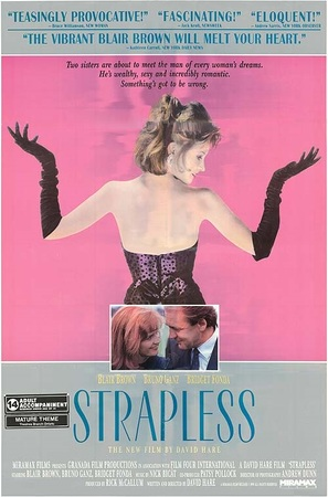 Strapless - British Movie Poster (thumbnail)