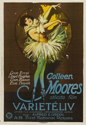 Sally - Swedish Movie Poster (thumbnail)