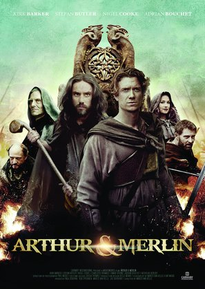 Arthur & Merlin - British Movie Poster (thumbnail)