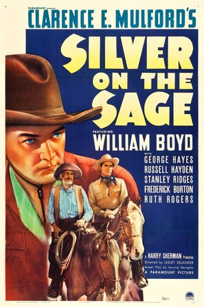 Silver on the Sage - Movie Poster (thumbnail)
