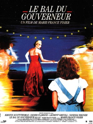 Le bal du gouverneur - French Movie Poster (thumbnail)