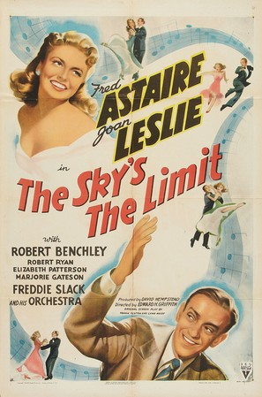 The Sky's the Limit - Movie Poster (thumbnail)