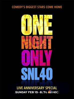 Saturday Night Live: 40th Anniversary Special - Movie Poster (thumbnail)