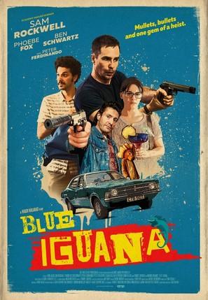 Blue Iguana - British Movie Poster (thumbnail)