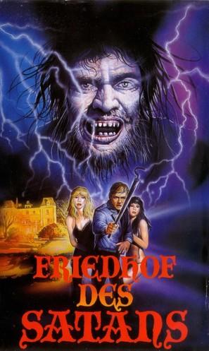 Cementerio del terror - German VHS movie cover (thumbnail)