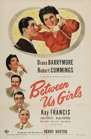 Between Us Girls - Movie Poster (thumbnail)