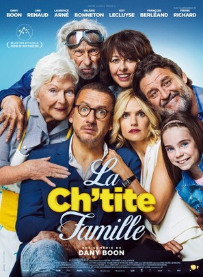 La ch'tite famille - French Movie Poster (thumbnail)