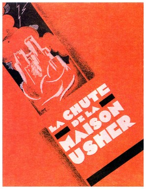 La chute de la maison Usher - French Movie Poster (thumbnail)