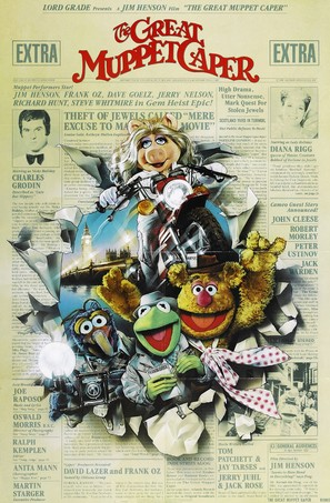 The Great Muppet Caper - Movie Poster (thumbnail)