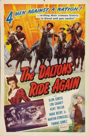 The Daltons Ride Again - Movie Poster (thumbnail)