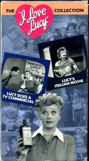 """""""I Love Lucy"""" - VHS movie cover (thumbnail)"""