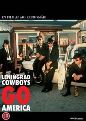Leningrad Cowboys Go America - Danish Movie Cover (thumbnail)