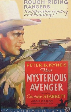 The Mysterious Avenger - Movie Poster (thumbnail)