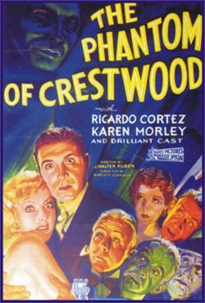 The Phantom of Crestwood - Movie Poster (thumbnail)