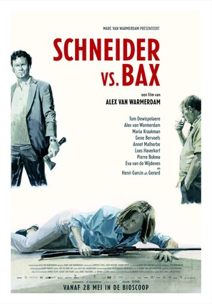 Schneider vs. Bax - Dutch Movie Poster (thumbnail)