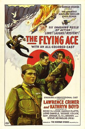 The Flying Ace - Movie Poster (thumbnail)