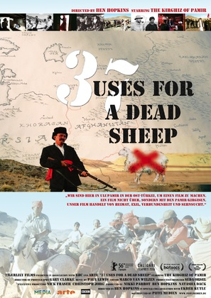 37 Uses for a Dead Sheep - German poster (thumbnail)