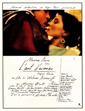 Ars amandi - French Movie Poster (thumbnail)