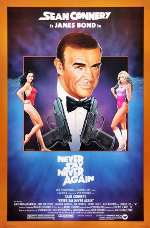 Never Say Never Again - Movie Poster (thumbnail)