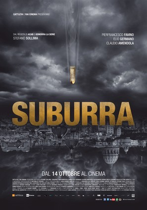 Suburra - Italian Movie Poster (thumbnail)