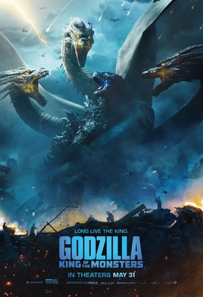 Godzilla: King of the Monsters - Movie Poster (thumbnail)