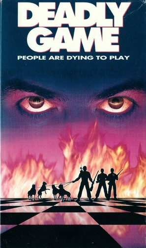 Deadly Game - VHS movie cover (thumbnail)