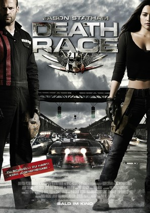 Death Race - German Movie Poster (thumbnail)