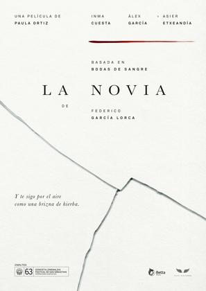 La novia - Spanish Movie Poster (thumbnail)