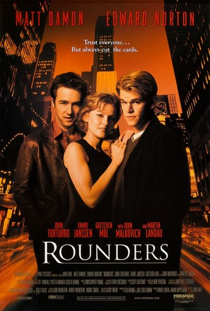 Rounders - Movie Poster (thumbnail)