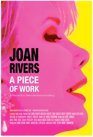 Joan Rivers: A Piece of Work - Movie Poster (thumbnail)