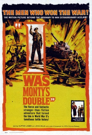 I Was Monty's Double - British Movie Poster (thumbnail)