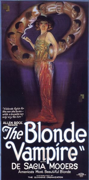 The Blonde Vampire - Movie Poster (thumbnail)
