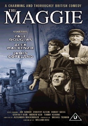 The 'Maggie' - British DVD movie cover (thumbnail)
