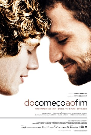 Do Começo ao Fim - Brazilian Movie Poster (thumbnail)