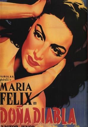 Doña Diabla - Mexican Movie Poster (thumbnail)
