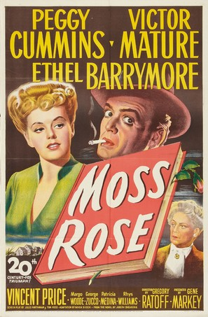 Moss Rose - Movie Poster (thumbnail)
